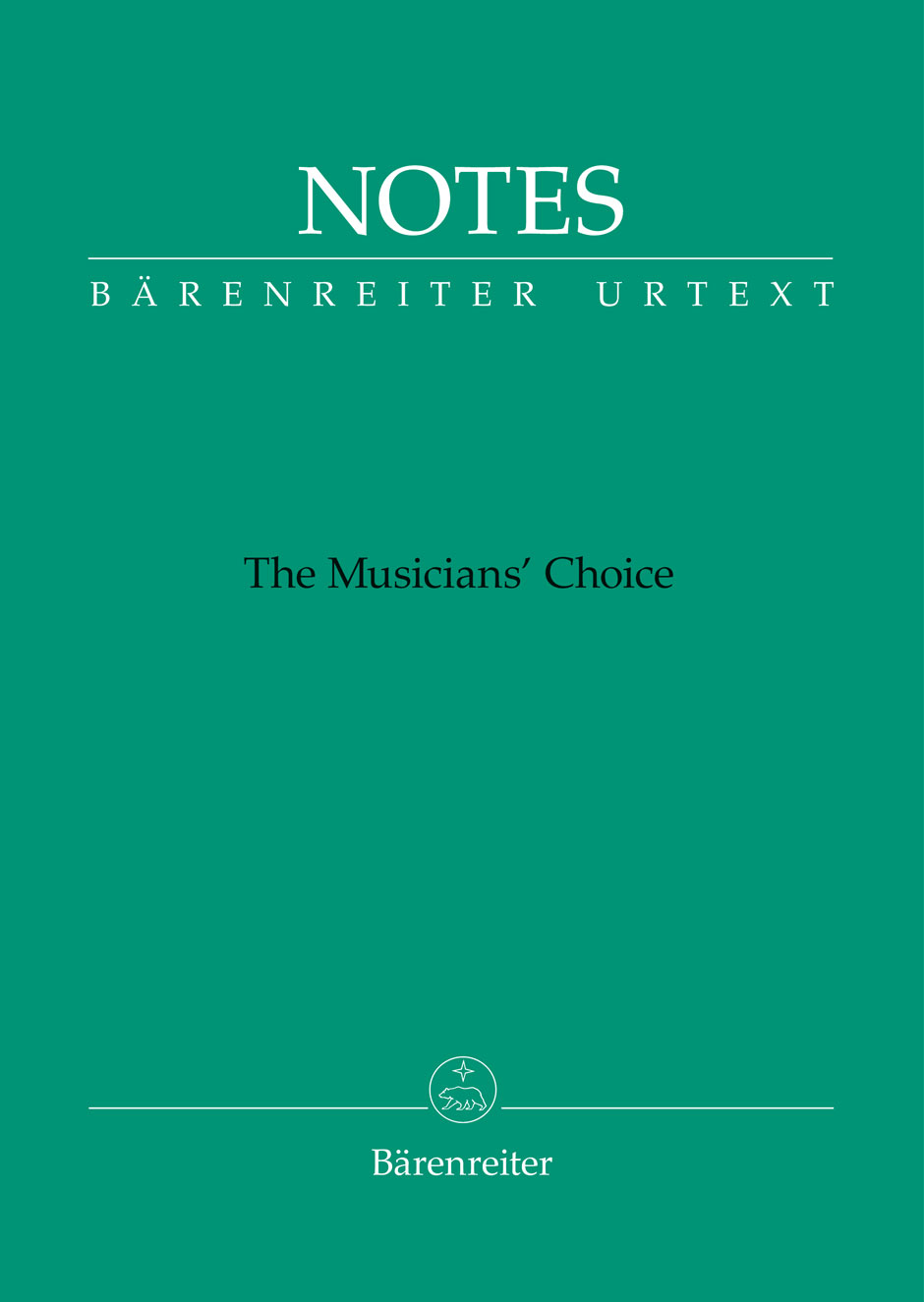Bärenreiter Notes (zelený)