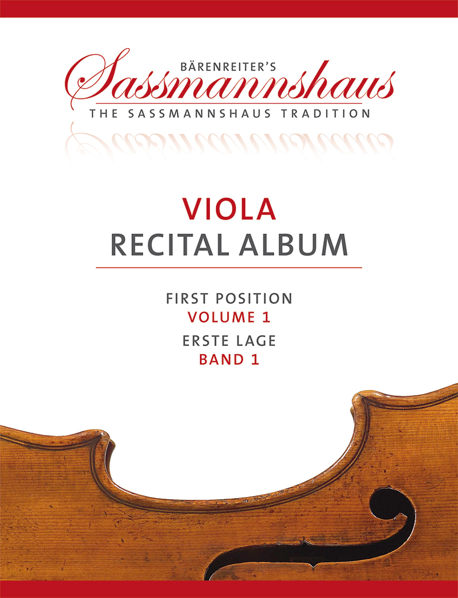 Viola Recital Album, Volume 1