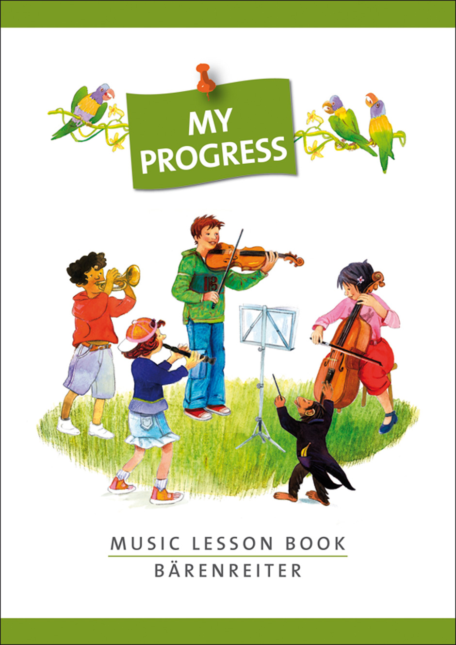 My Progress. Music Lesson Book.