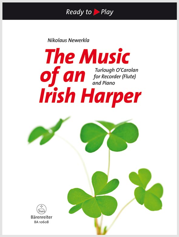 The Music of an Irish Harper pro flétnu a klavír
