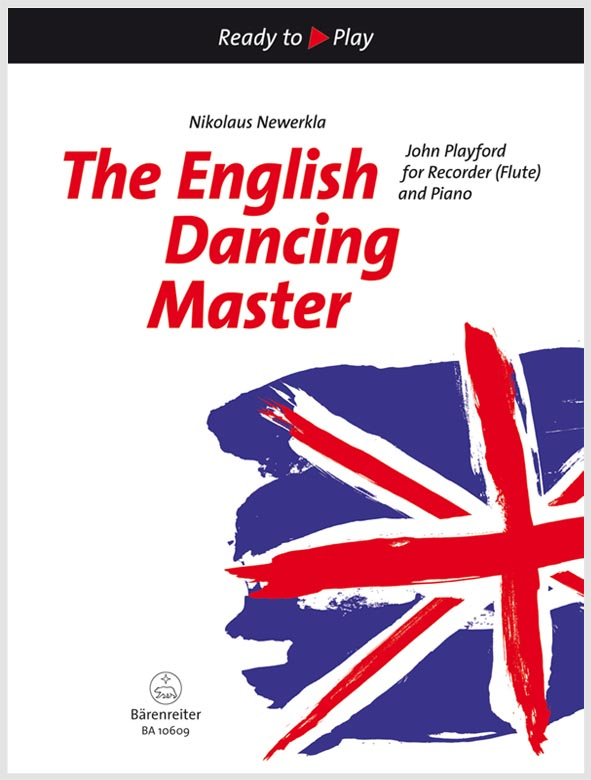 The English Dancing Master pro flétnu a klavír