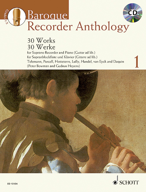 Baroque Recorder Anthology 1
