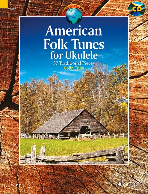 American Folk Tunes for Ukulele - 37 Traditional Pieces